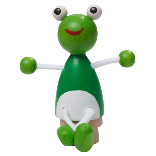 Gluckskafer - Frog Figurine for Birthday Rings