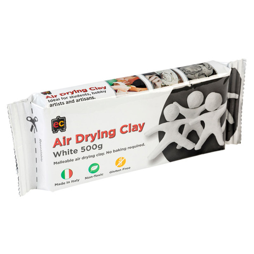 Air Drying Clay White (500g)